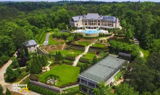 Tyler Perry Atlanta Mansion For Sale 1