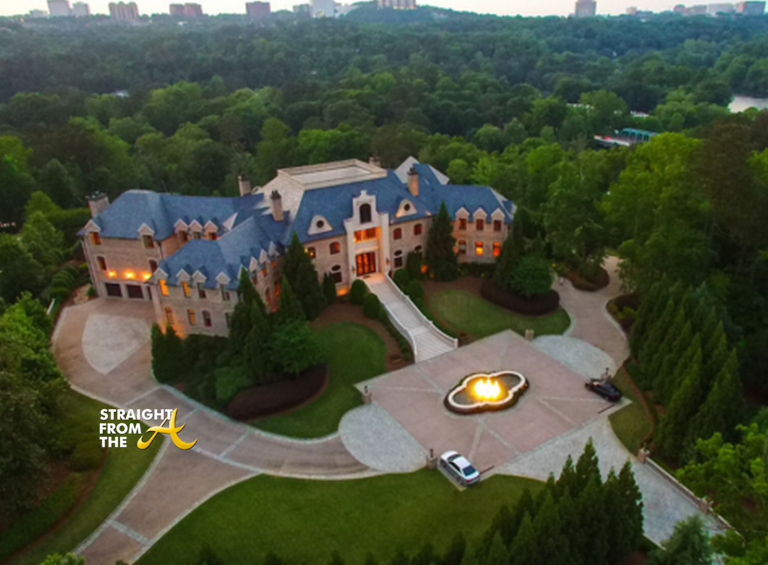 Tyler Perry Atlanta Mansion For Sale Straight From The A