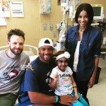 Ciara Russell Wilson Joel McHale - Seattle Childrens Hospital 0715 1