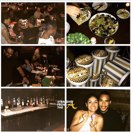 EMPIRE Grace Gealey and Trai Byers Engaged 9