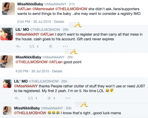 Lil Mo Responds to Registry Criticism