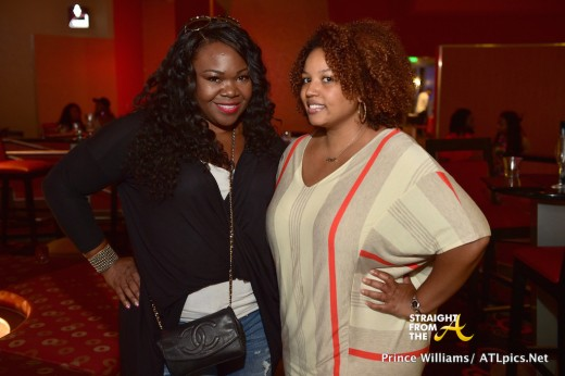 Michelle Brown and Janee Bolden