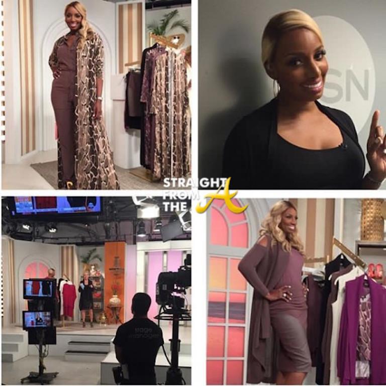 nene leakes celebrates 1 year anniversary of hsn clothing line +