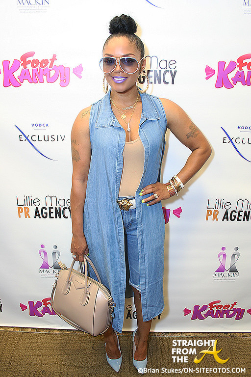 Rasheeda - Foot Kandy Launch 3