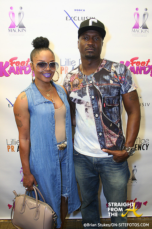 Rasheeda Kirk Frost - Foot Kandy Launch 1