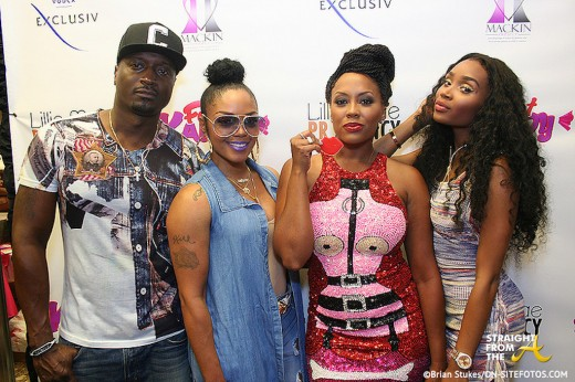 Rasheeda Kirk Frost - Foot Kandy Launch 4