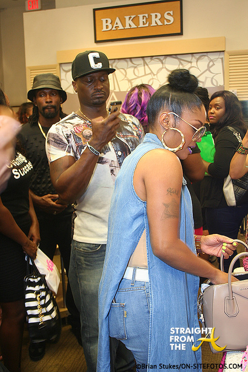 Rasheeda Kirk Frost - Foot Kandy Launch