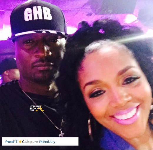 Rasheeda and Kirk Frost July 4 2015