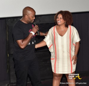 Ryan Cameron and Janee Bolden hosting