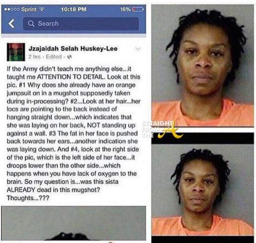 Sandra Bland Mugshot Conspiracy