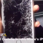 michael costell racial slur maxine james broken phone