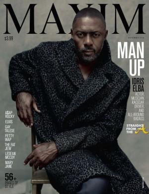 Idris Elba Maxim 2015 - Cover