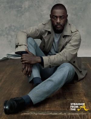 Idris Elba Maxim 2015