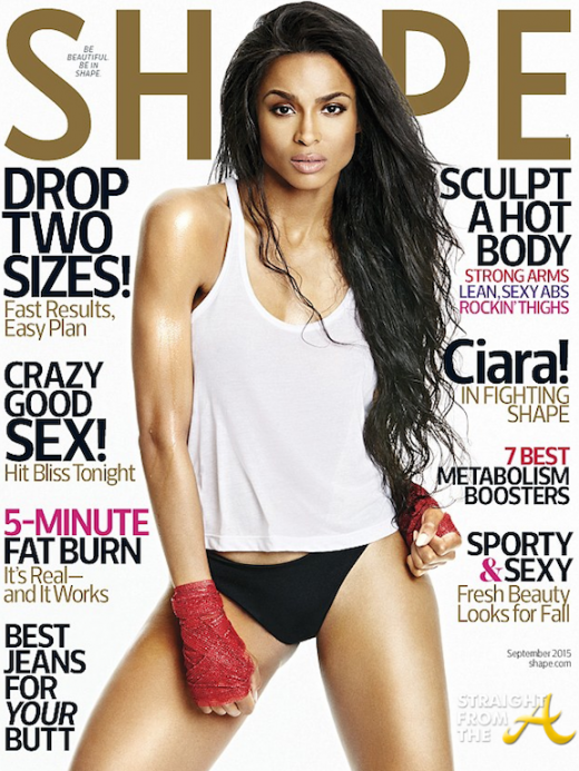 Ciara Shape September 2015 Cover