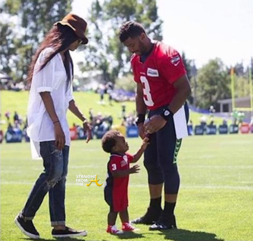 3d123c1058b224 Ciara Trends Nationwide After Taking Future s Son to Russell Wilson s  Practice + T.I. Chimes In…