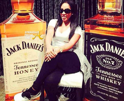 K Michelle Whasserface Jack Daniels 3