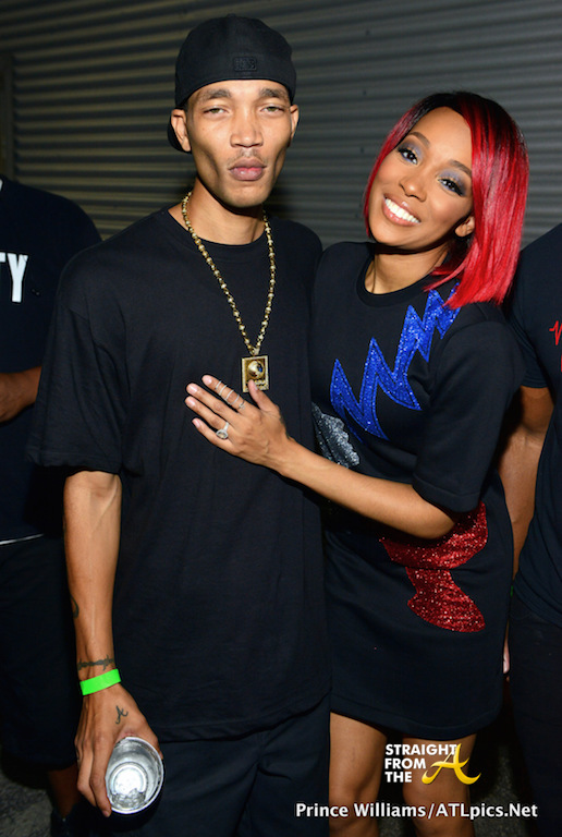 Monica Brown and Montez Arnold (brother)