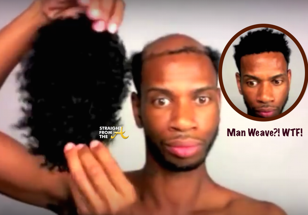 For Discussion Is Man Weave The New Thing Now Photos Video