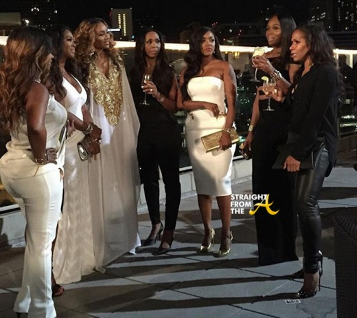 Sheree Whitfield Marlo Hampton RHOA S8 2