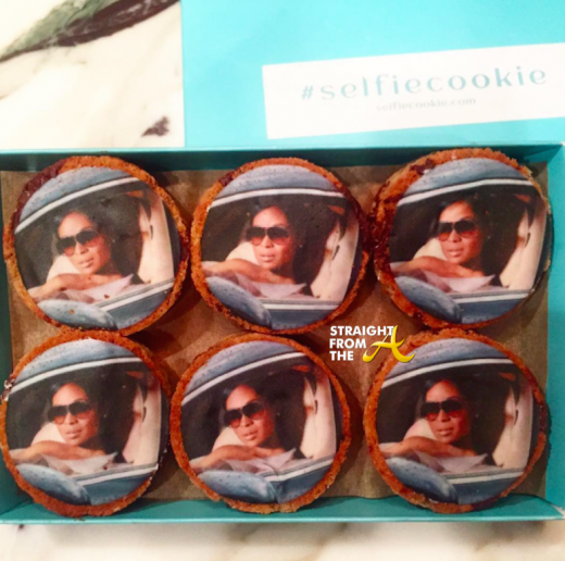 marlo hampton selfie cookie