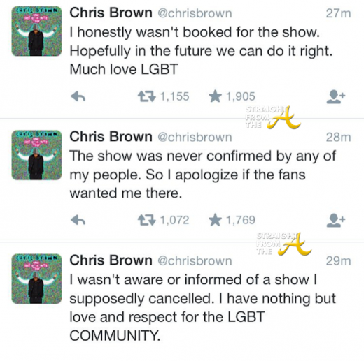 Chris Brown Responds 1