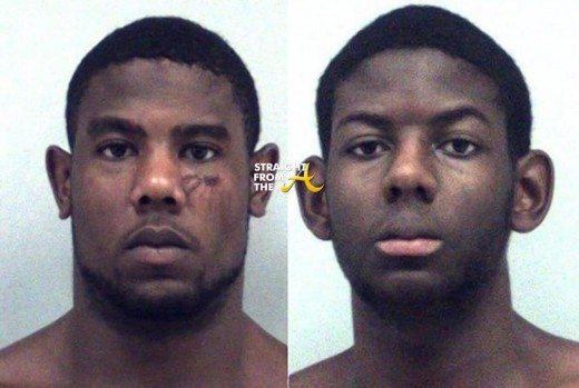 Christopher Ervin (left), 22, Cameron Ervin (right), 17