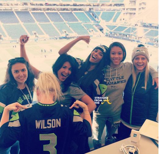 Ciara Seahawks Game 3