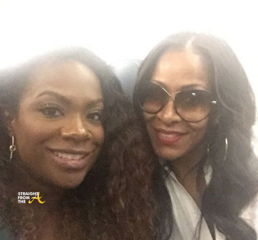 Kandi Burruss Sheree Whitfield