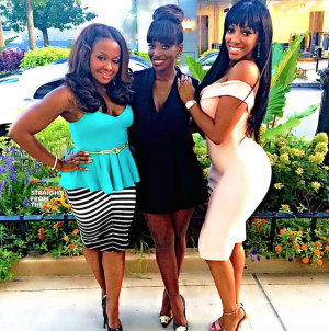 Phaedra Parks Shamea Morton Porsha Williams