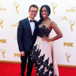 Porsha Williams Brad Goreski (Fashion Police) Emmy Awards 2015 4