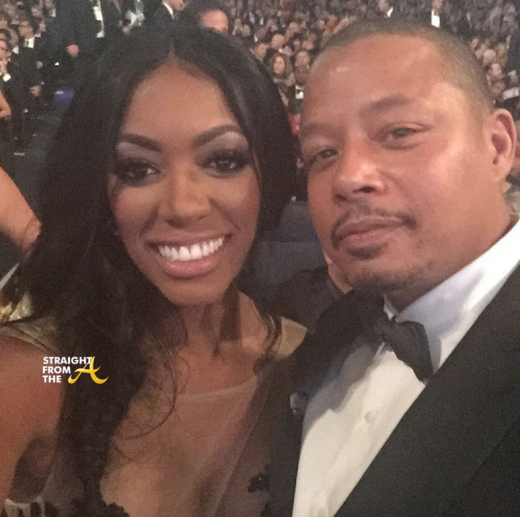 Porsha Williams Terence Howard Emmy Awards 2015 1