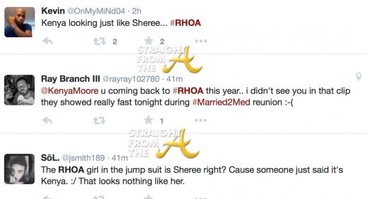 RHOA Tweets 1