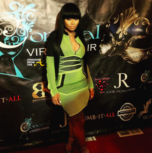 Blac Chyna - Time Restaurant 5