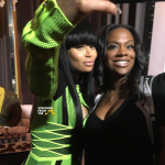 Quick Pics: #RHOA Kandi Burruss & Blac Chyna Spotted at Time Restaurant in Atlanta…