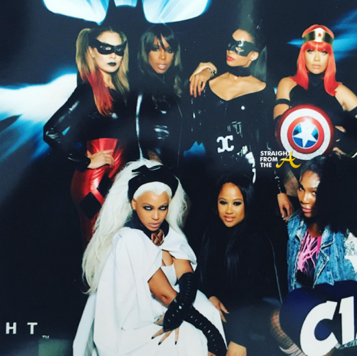 Ciara 35th Birthday - Beyonce, Kelly Rowland, Serena Williams, Lala Antony, Angel Beyince