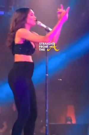Ciara Pregnant Baby Bump 2015