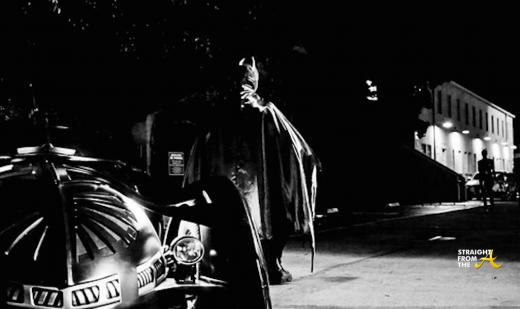 Ciara Walking to Batman