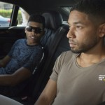 "EMPIRE: Pictured L-R: Bryshere Gray as Hakeem Lyon and Jussie Smollett as Jamal Lyon in the ""Without A Country"" episode of EMPIRE airing Wednesday, Sept. 30 (9:00-10:00 PM ET/PT) on FOX. ©2015 Fox Broadcasting Co. Cr: Chuck Hodes/FOX."