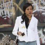 "EMPIRE: Taraji P. Henson as Cookie Lyon in the ""Without A Country"" episode of EMPIRE airing Wednesday, Sept. 30 (9:00-10:00 PM ET/PT) on FOX. ©2015 Fox Broadcasting Co. Cr: Chuck Hodes/FOX."