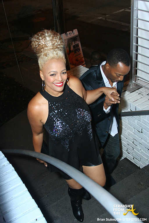 Kim Fields and Husband 2