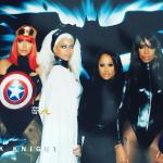 Lala, Beyonce, Angela Beyince, Kelly Rowland - Ciara 35th Birthday