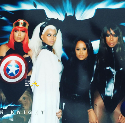 Lala, Beyonce, Angela Beyince, Kelly Rowland - Ciara 35th Birthday