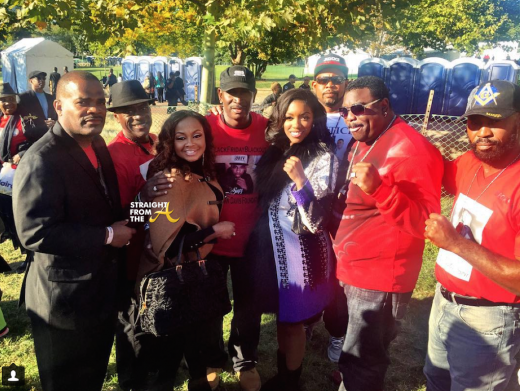 Phaedra Parks Porsha Williams & Fathers of Slain Sons