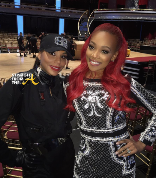 Tamar Braxton Monica Brown DWTS