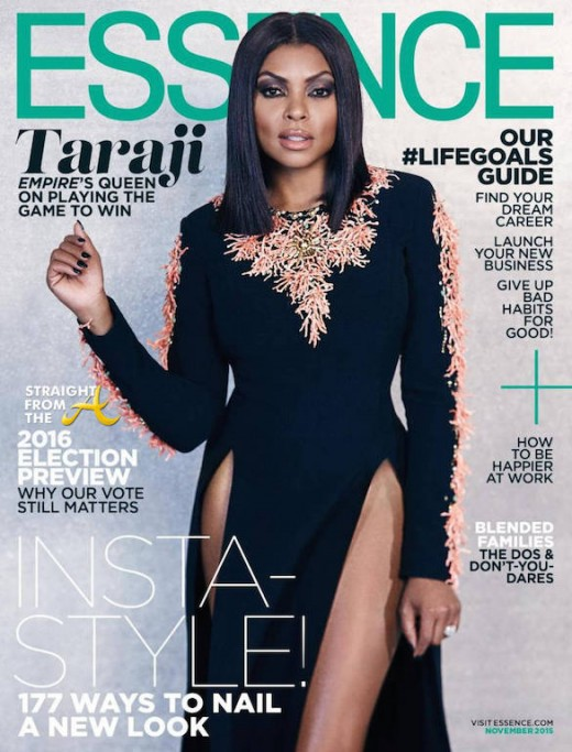 Taraji P Henson Essence 2015 Cover