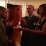 Usher Grace Miguel President Barack Obama Michell Obama 7 StraightFromTheA