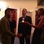 Usher Grace Miguel President Barack Obama Michell Obama StraightFromTheA