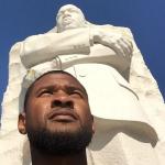 Usher MLK Monument 2015