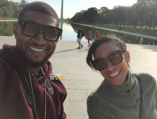 Usher and Grace Miguel 2015 StraightFromTheA