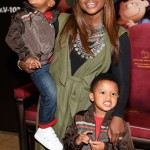 Phaedra Parks and sons